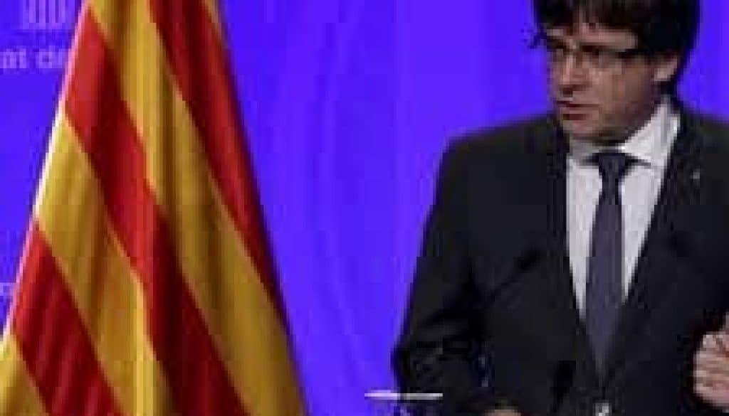 Declaració President Puigdemont
